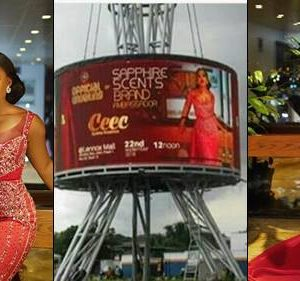 Reality Star, Cee-C Make Her First Major Billboard Appearance In Lekki