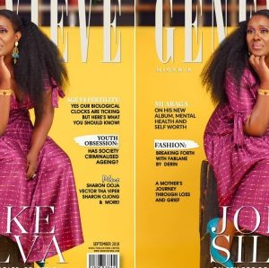 Genevieve Magazine Ft Joke Silva, Sharon Ooja, MI In Latest Edition
