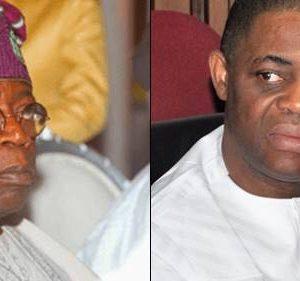 "Lagosians Boo Bola Tinubu, Chanting ""OLE"" At APC Secretariat – FFK"