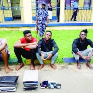 Nigerian Men Scam Foreigner Of €15,000, Victim Travels Down To Nigeria To Arrest Them