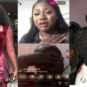 Video: Reality Star, Alex And Anita Joseph Cries Uncontrollably While Appreciating Each Other…