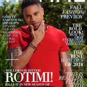 Hollywood Actor Rotimi Covers Kontrol Magazine's Latest Edition
