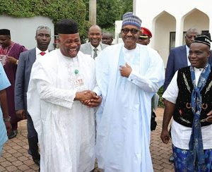 My Heart Was With President Buhari In 2015 Polls, Says Akpabio
