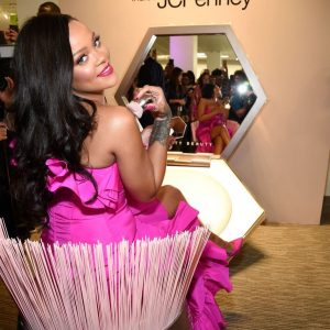 Pop star Rihanna Celebrates Fenty Beauty's One Year Anniversary
