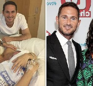 Frank Lampard And Christine  Welcomes Baby Girl…