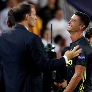 Photo: Cristiano Ronaldo Breaks Down In Tears After Dismissal From The Pitch