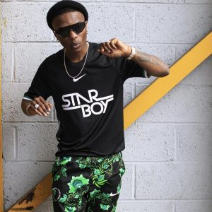 Photos: Wizkid's Starboy Jersey With Nike Sells Out in 10 minutes
