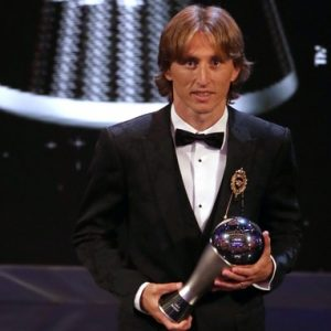 #BestFifaFootballAwards2018: Luka Modric Beats Ronaldo And Salah To Be Named FiFA's The Best 2018