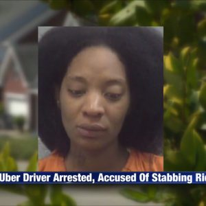Uber Driver Allegedly Stabs 2 Passengers For Vomiting In Her Car