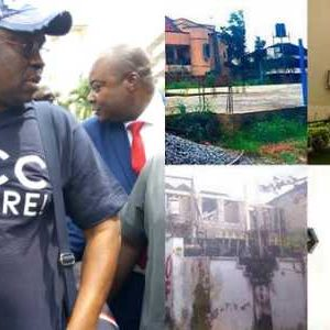 EFCC Releases Pictures Of Properties Fayose Acquired Wrongly…