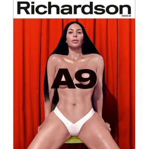 Kim Kardashian's Nude Shoot For Richardson Magazine's 20th Anniversary Issue