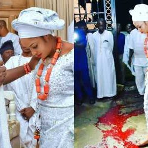 """Ooni Of Ife's Wife, Naomi Oluwaseyi Stepped On """"OSUN"""", Not Blood"""