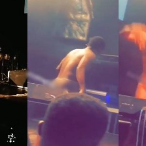 Video: Nigerian Singer, Brymo Performs Naked In The UK