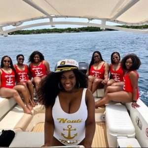 Beautiful Bride And Her 6 Bridesmaids Slay In Sexy Swimsuits (Photos)