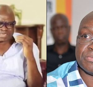 Gov. Fayose Weeps As He Leaves Govt House, Says He Will Be Back