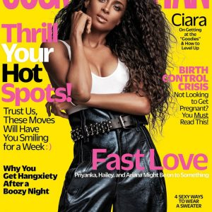Photos: Singer Ciara Covers Cosmopolitan Magazine New Edition