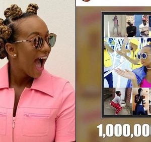 Dj Cuppy Celebrates As Her Song 'Werk' Get One Million Plays
