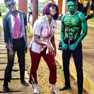 See Photos: FUNAAB Students Celebrate Halloween In Style