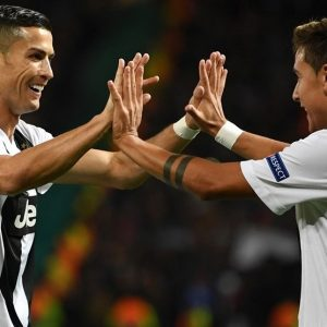 UEFA Champions League: Jeventus Thrash Man United, Real Madrid Triumph