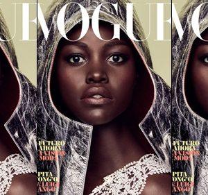 Model / Actress Lupita Nyong'o Glow As She Cover Vogue Spain