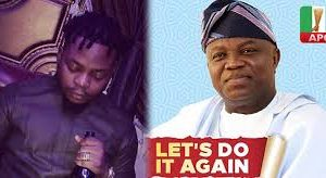 I Want A Second Term For My Daddy Ambode, Says Rapper Olamide