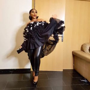 Actress, Rita Dominic Makes An Appearance At Lagos Fashion Weeks 2018