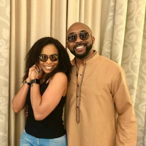 Former BBN's Tboss Waned Against Snatching Banky W. From Actress Adesua, She Reacts