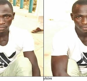 Photos: Man Caught Trying To Sell Human Eyeball For N250, 000 In Niger