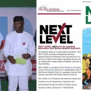 President Buhari 'NextLevel' Concept From Associate Professor