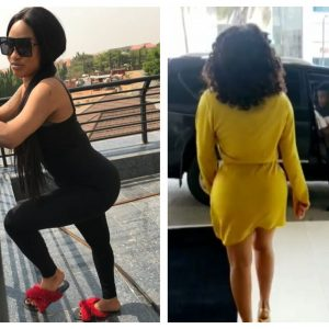 Kiss My Black Surgical A**- Actress Tonto Dikeh Blasts Haters