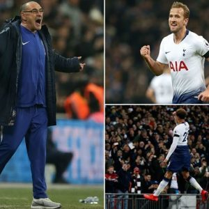 EPL: Sarri Blasts Players, Reveals Why Chelsea Lost 3-1 To Tottenham