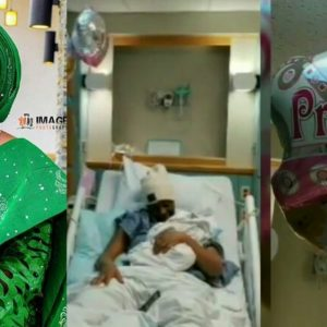 Nollywood Actress, Aisha Lawal Welcomes A Awesome Baby Girl In The US