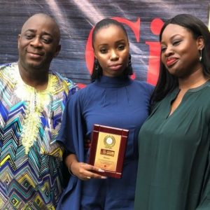 See Photos: City People Magazine Honours Bambam With An Award