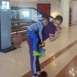 Actress Tonto Dikeh Shares Adorable Photo With Her Son, Prays for Fruit Of The Womb for Barren Women