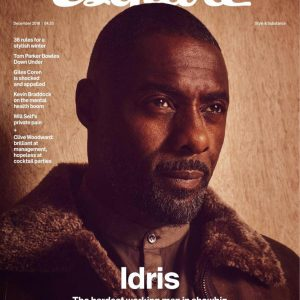 Actor Idris Elba Cover Esquire Magazine's Latest Issue
