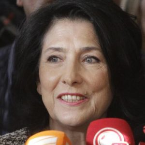 Georgia Gets First Woman President Salome Zurabishvili