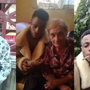 23 Years Old Nigerian Boy Blasts Those Against His Affair With A 85 Years Old White Grandma
