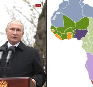 'Africa Is Just A Cemetery For Africans' Russia President, Putin Declares