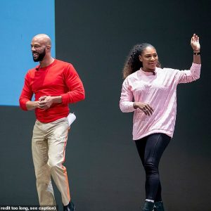 Photos: Serena Williams Reunites With Ex-Boyfriend Common