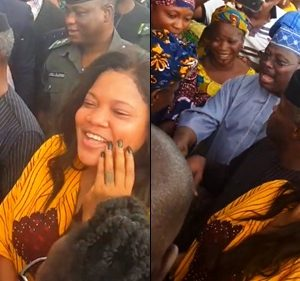 Actress Toyin Abraham Blasts By Fans After Being Spotted With Vice Pres. Osinbajo For Tradermoni
