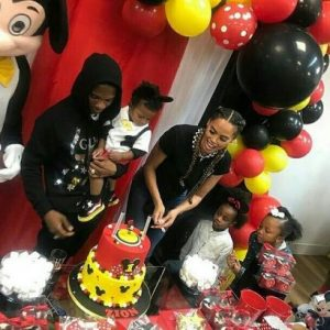 Superstar, Wizkid's Son, Zion's Mickey Mouse Themed Birthday Party
