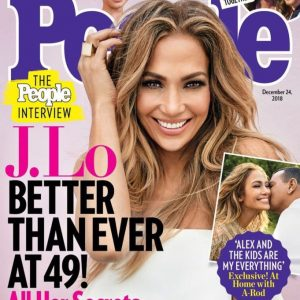 Jennifer Lopez Opens Up About Her Relationship With Alex As She Covers People Magazine's Latest Issue