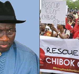 "I Can't Take Responsibility For ""Chibok Girls"" Abduction, Says Ex-Pres. Goodluck Jonathan"