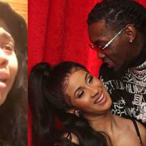 Video: Offset's Alleged Mistress Tearfully Apologies, I'm Sorry Card B