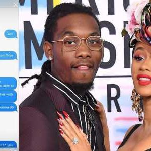 Exposed!! See The Leaked Chat That Caused Cardi B & Offset's Divorce