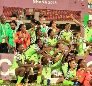 AWCON 2018 Final: Nigerian Super Falcons Beat South Africa To With 2018 AWCON