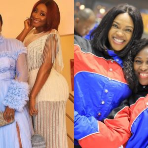 Nollywood Actress, Ini Edo Blasts Omoni Oboli For Missing Her 'Bestie' Uche Jombo's Movie Premiere