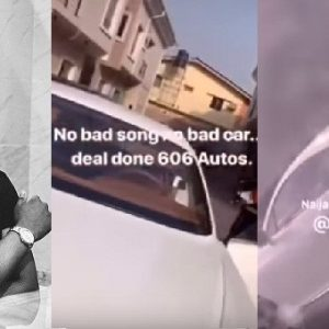 Singer Kiss Daniel Buys Himself A Bentley, Months After Buying A Mansion