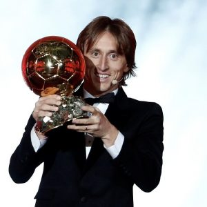 Luca Modric Crowned World's Best Player At Ballon d'Or Awards Ends Ronaldo & Messi's 10 Year Dominance