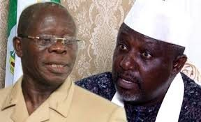 You Have No Right To Abuse Obasanjo, Okorocha Tells Oshiomhole